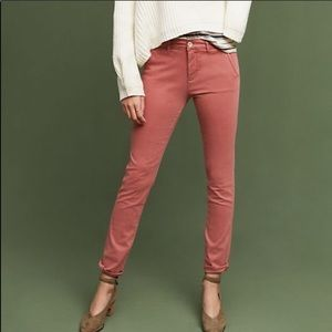 Hei Hei Anthropologie Broad Sateen Pants Blush F1